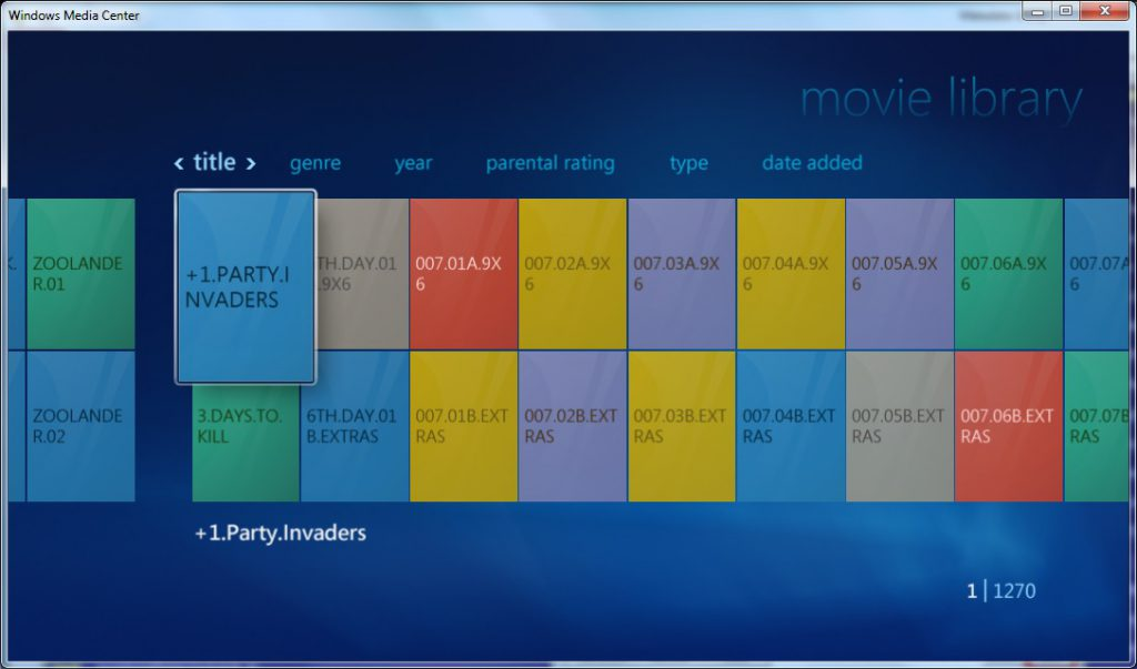 Metadata Utility – Windows Media Center - No Coverart - No Metadata