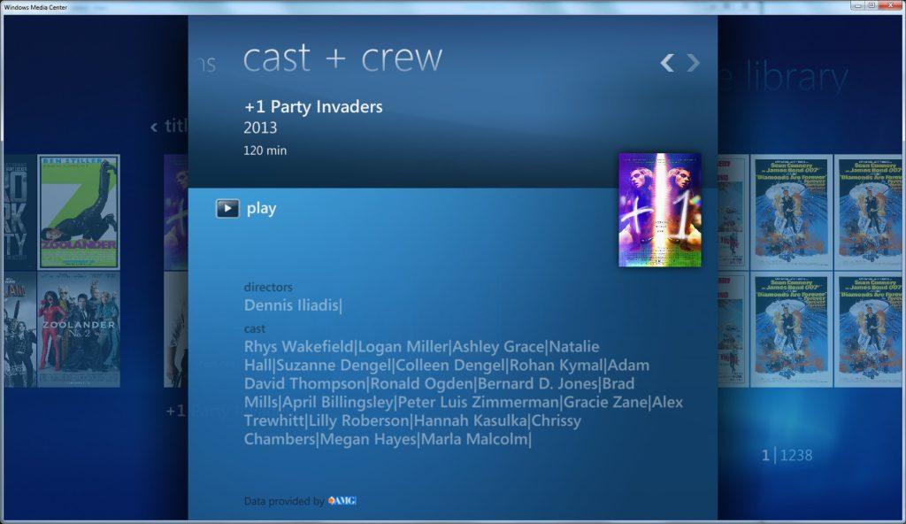 Metadata Utility – Windows Media Center - Coverart - Metadata