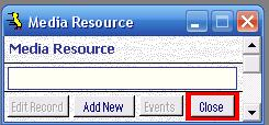Metadata Utility – Media Resource - Edit
