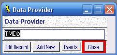 Metadata Utility – Data Provider