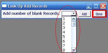 Metadata Utility – Add New Look Up Records