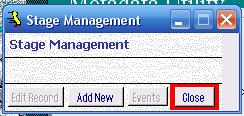 Metadata Utility – Stage Management