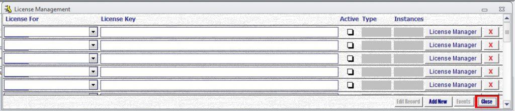 Metadata Utility - License Management