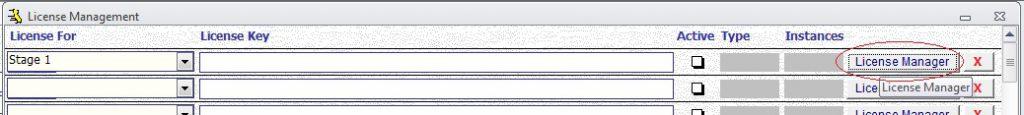 Metadata Utility - License Management - Edit - License